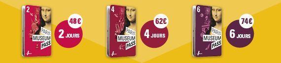 Precios de Paris Museum Pass