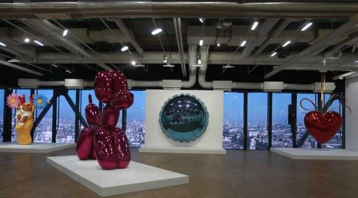Exposición de Arte Contemporáneo Jeff Koons en el Centre Pompidou
