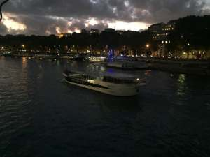 Vedettes de Paris boat