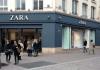 Zara Shop im Pariser Zentrum