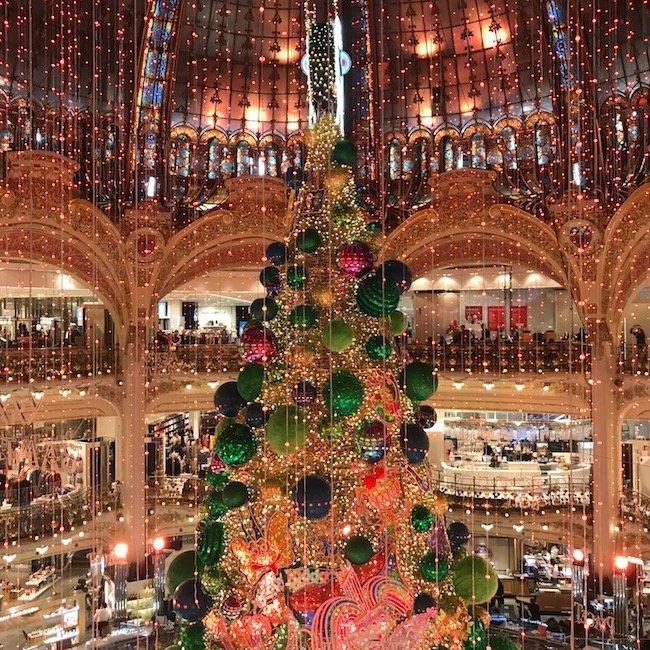 Galeries Lafayette Warenhuis in Parijs