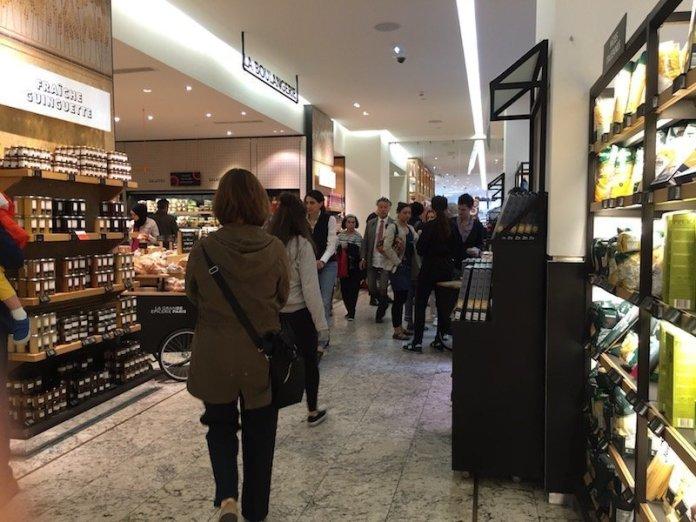 Tienda de comestibles de calidad Grand Epicerie