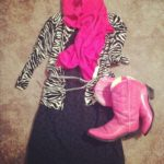My Attempt at Fashion: Dresses + [Pink] Cowboy Boots