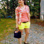 A #YOLOMONDAYS link-up, new blog design, + NEON shorts!
