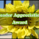 Showing Appreciation + an Award