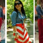 Emily Maynard Inspired Fashion: Chambray, Jersey Knit, & Pearls