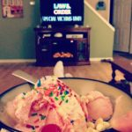 Ice Cream, SVU, and 21 Weeks!