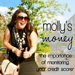 Monitoring Your Credit Score + My Favorite App For That | Molly's Money