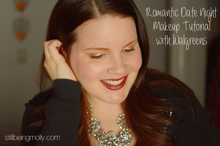 Romantic Date Night Drugstore Makeup Tutorial #ad