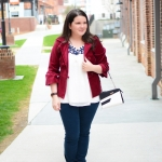 "A ""winter"" outfit, Miche purse review, & Funday Monday Link-Up!"