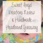Sweet Angel Kreations Handmade Headband Review & Giveaway!