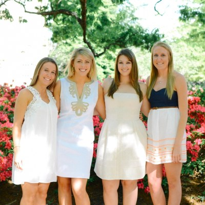 PHOTOGRAPHY | Kate, Amelia, Alice, & Amy – UNC Chapel Hill Senior Portraits