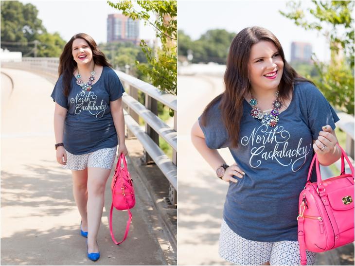 Gravel Road Tees: North Cackalacky T-Shirt | Dressing Up a Printed T-Shirt (3)