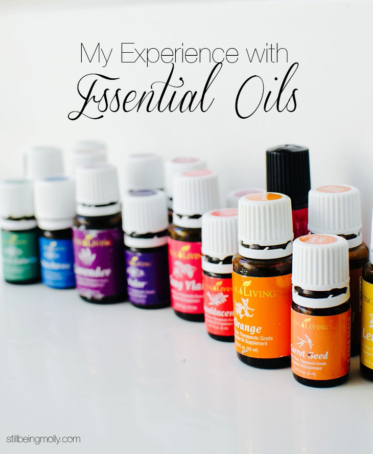 My Experience Using Essential Oils http://bit.ly/MollyYLEO