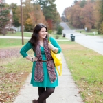 The Belted Scarf + Link Up!