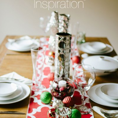 DECOR | Holiday Tablescape Inspiration, Giveaway & Link-Up