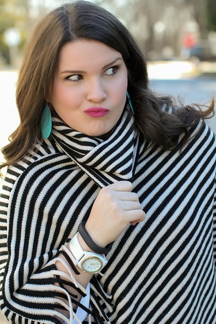 Liverpool Talullah Pant, striped Wallis Fashion poncho, (2)