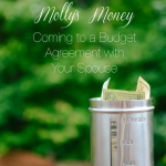 Molly's Money | Coming to a Budget Agreement with Your Spouse