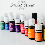 March Young Living Essential Rewards Unboxing