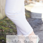 11 Ways to Wear White Jeans