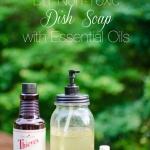 Easy DIY Non-Toxic Dish Soap