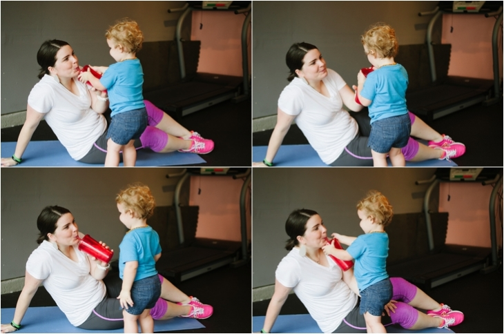 Pregnancy and Prenatal Fitness   15 Minute Low Impact Workout (16)
