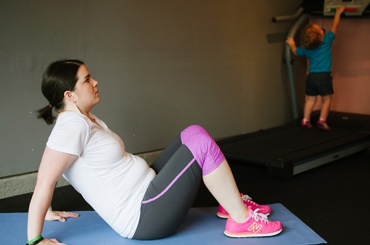 Pregnancy and Prenatal Fitness   15 Minute Low Impact Workout (17)