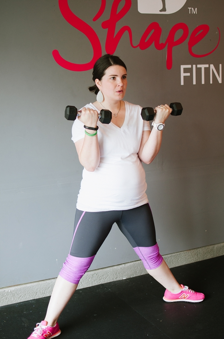 Pregnancy and Prenatal Fitness   15 Minute Low Impact Workout (4)