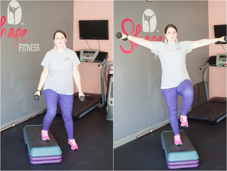 Fitness Friday | Easy At-Home Prenatal Step Cardio Workout (2)