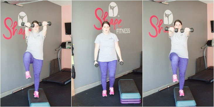 Fitness Friday | Easy At-Home Prenatal Step Cardio Workout (3)