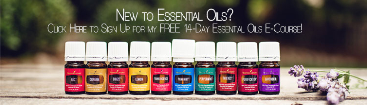 Sign up for my FREE 14-day Essential Oils E-Course