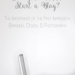 """The Importance of the First Impression 