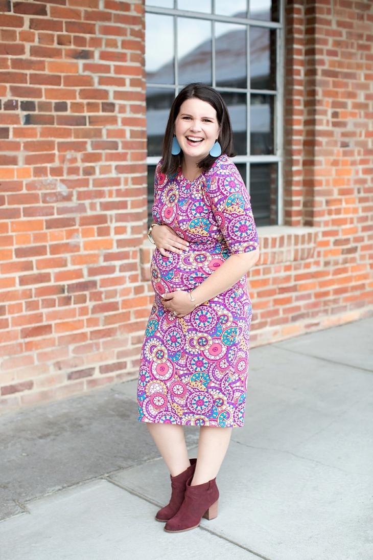 LulaRoe Julia Dress | Maternity Fashion & Style