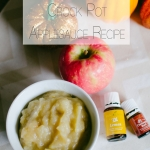 The Easiest (and most delicious) Homemade Crock Pot Applesauce Recipe Ever
