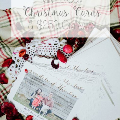 Our 2015 Christmas Cards & a $250 Minted.com Giveaway!