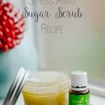 """DIY """"Stress Away"""" Sugar Scrub Recipe"""
