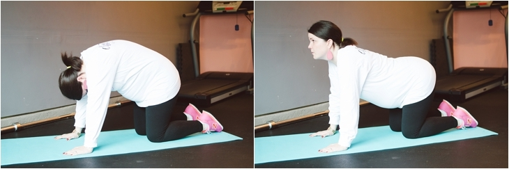 """A Prenatal Workout for the """"Nearly-Immobile"""" Pregnant Woman (or the times when you just can't move...)   Fitness Friday (1)"""