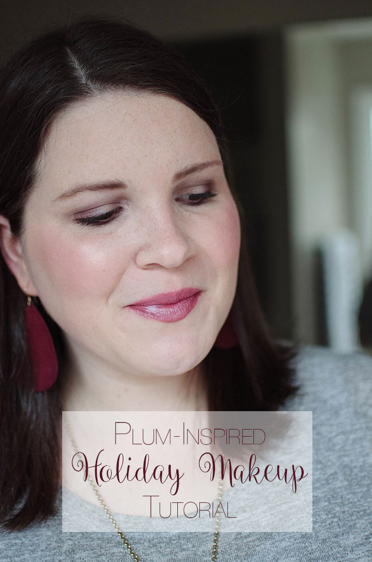 Simple Holiday Plum-Inspired Makeup Tutorial with NEUTROGENA Cosmetics (1)