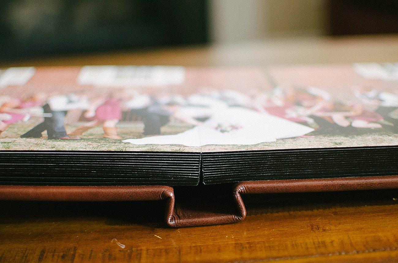 Leather Craftsman Wedding Album 8x8 Review (5)