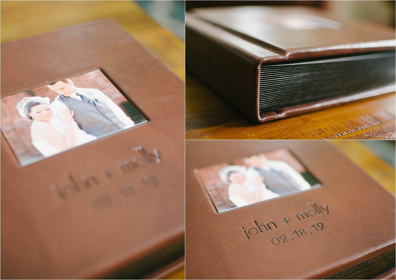 Leather Craftsman Wedding Album 8x8 Review (4)
