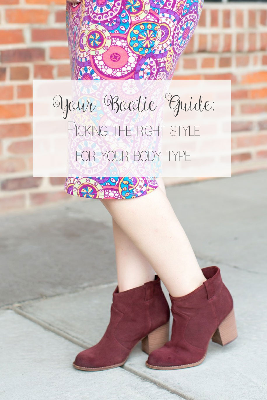 "How to Choose the ""Right Booties"" for Your Body Type"