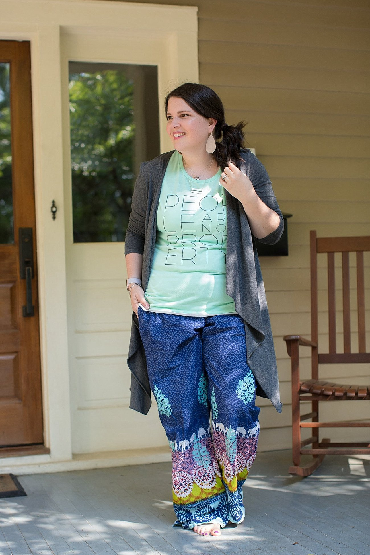 Sudara Goods Punjammmies & People are Not Property Tee | Ethical Fashion & Style Blogger (11)