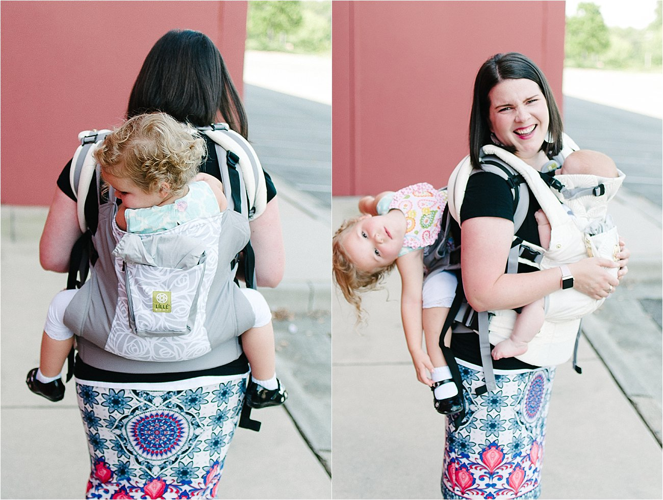 with Lillebaby Complete & CarryOn Baby Carriers #babywearing #tandemwearing #toddlerwearing (7)
