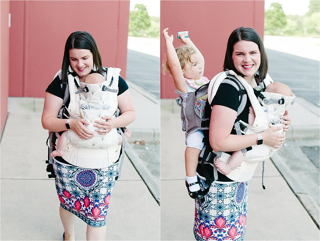 with Lillebaby Complete & CarryOn Baby Carriers #babywearing #tandemwearing #toddlerwearing (9)