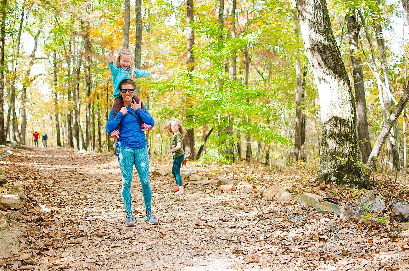 GoHikeNC Occoneechee Mountain Hillsborough Easy, Moderate, Difficult Family Hike (9)