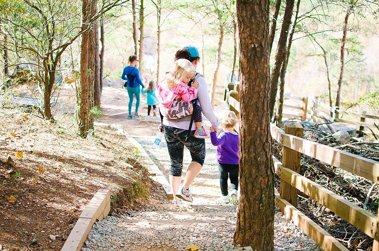 GoHikeNC Occoneechee Mountain Hillsborough Easy, Moderate, Difficult Family Hike (13)