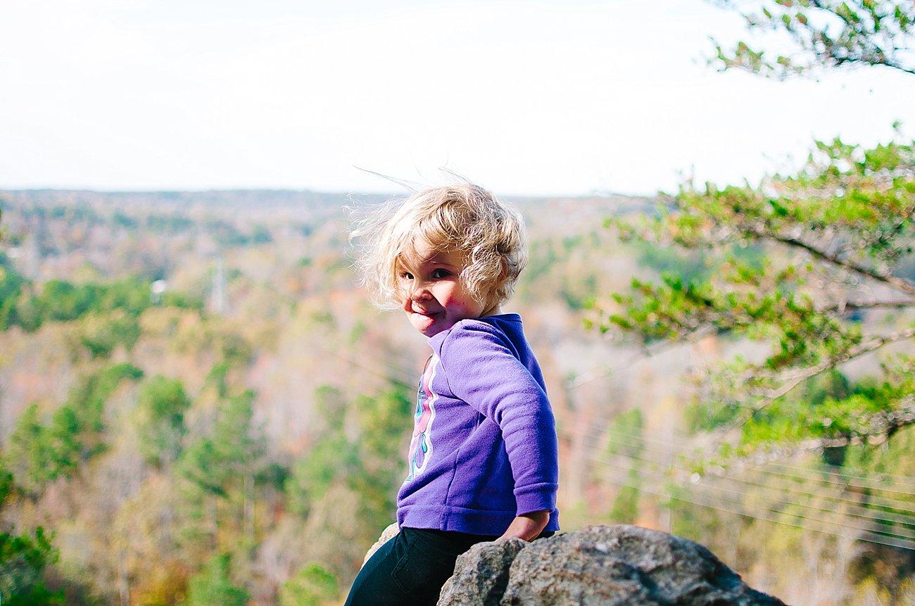 GoHikeNC Occoneechee Mountain Hillsborough Easy, Moderate, Difficult Family Hike (16)