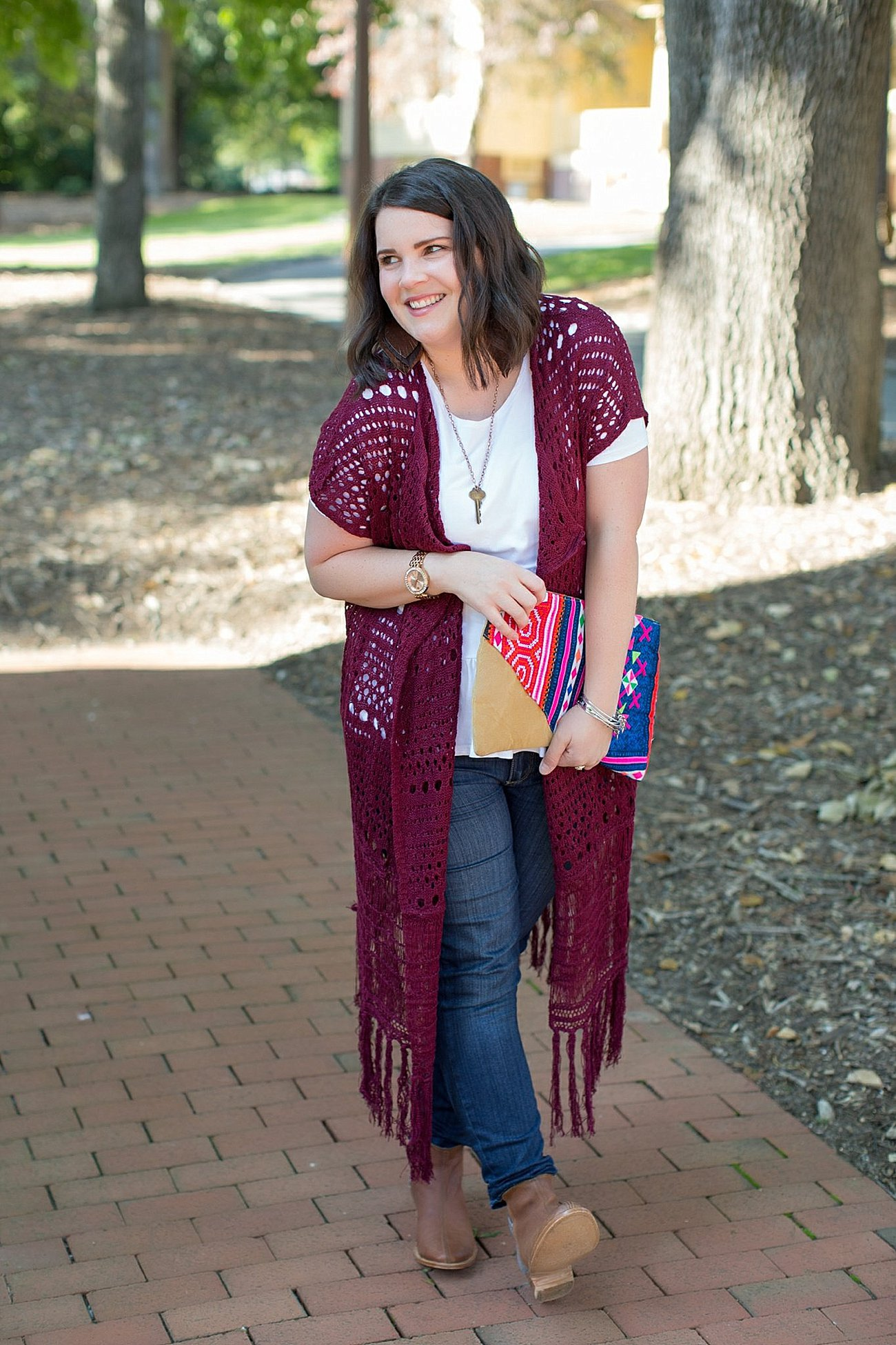 The Flourish Market Grace & Lace crochet duster, The Root Collective Espe booties (12)