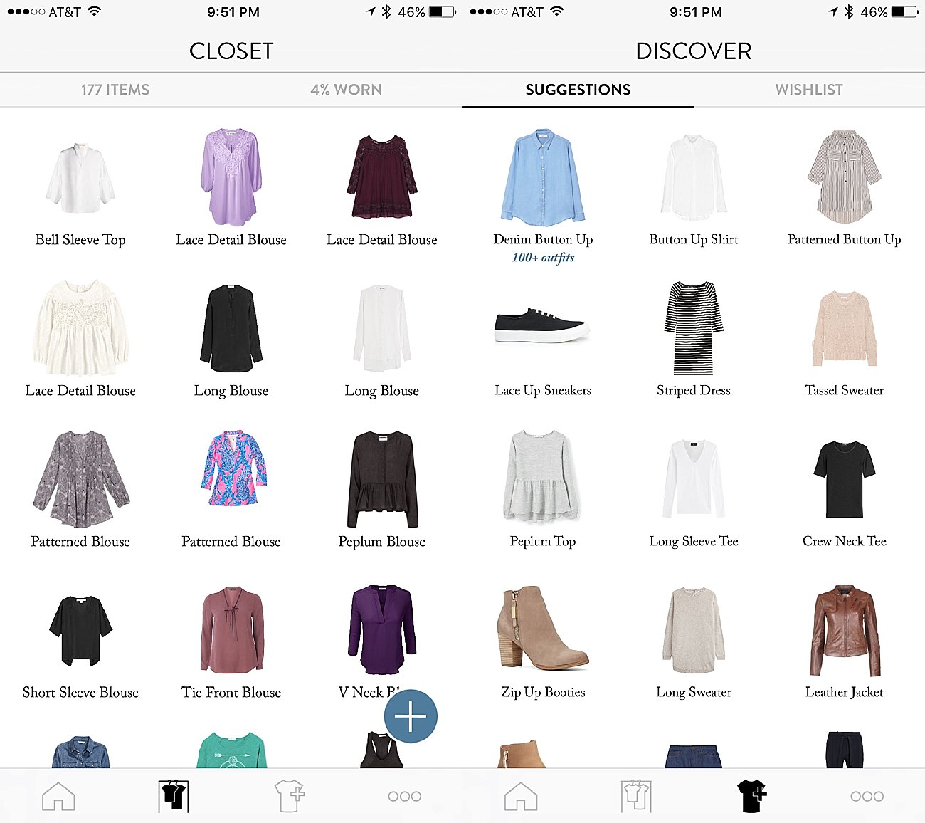 """Take the Time : My Obsession with the new """"Outfits"""" by Cladwell Wardrobe App by fashion blogger Still Being Molly"""