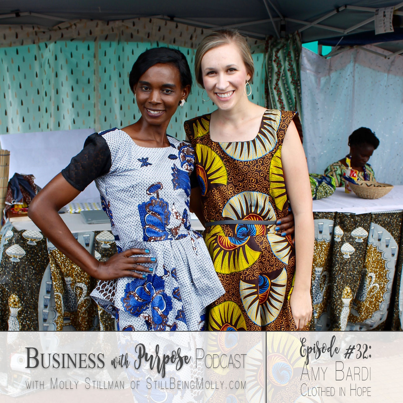 EP. 32: Amy Bardi, Founder of Clothed in HopeEP. 32: Amy Bardi, Founder of Clothed in Hope